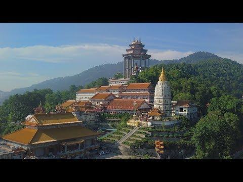 George Town, Penang Drone Footage 4K 12.2017