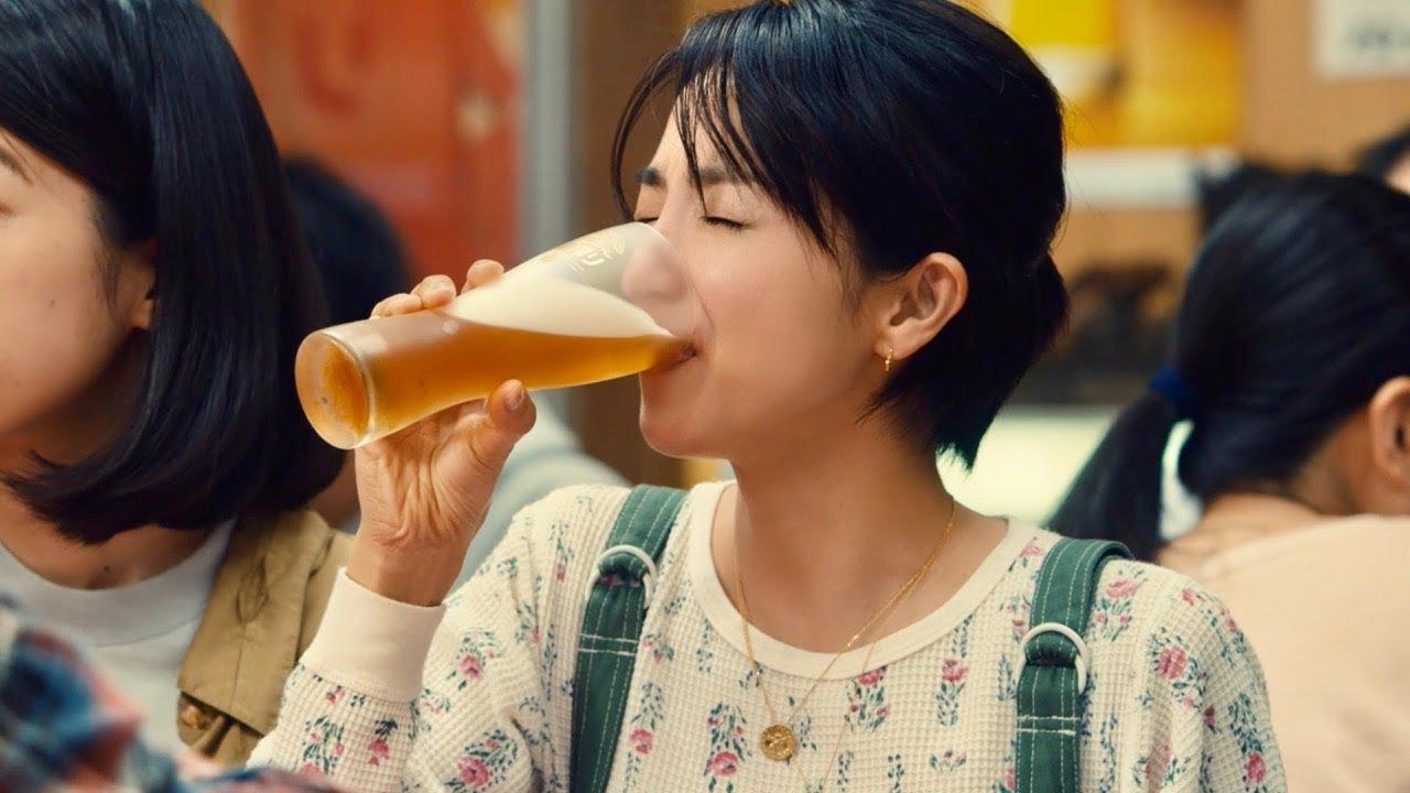 満島ひかり、餃子とビールは一緒じゃなきゃダメ/キリンTVCM「一番搾り 餃子とビール」篇