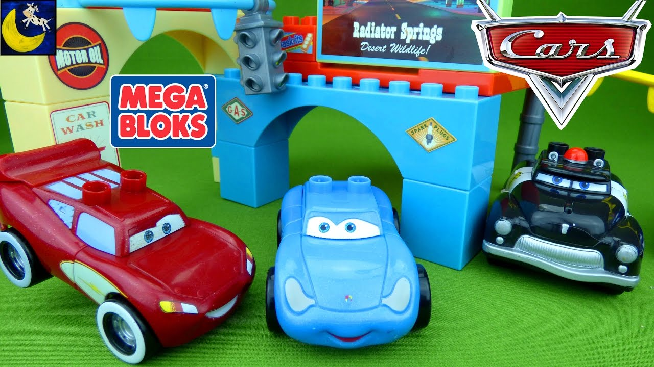 Disney Sally Disney Cars Glow In The Dark Mega Bloks Toys Supercharged