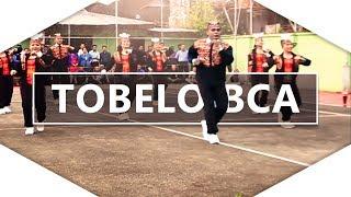 Goyang Tobelo Bank BCA cabang Ambon dalam rangka Porsebank Maluku 2017