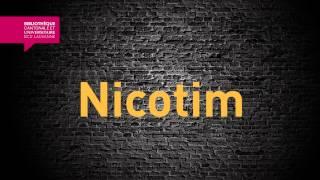 Nicotim - Concours LSA - BCU Lausanne