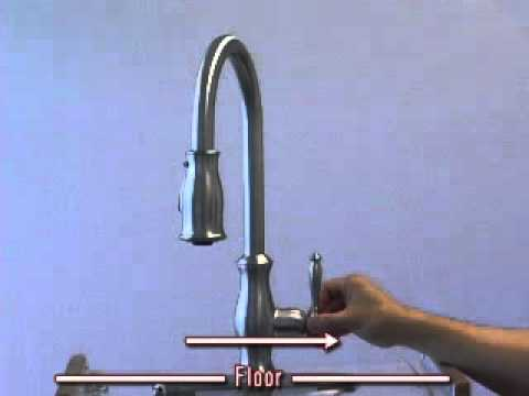 maintenance remove cartridge from hanover kitchen faucet