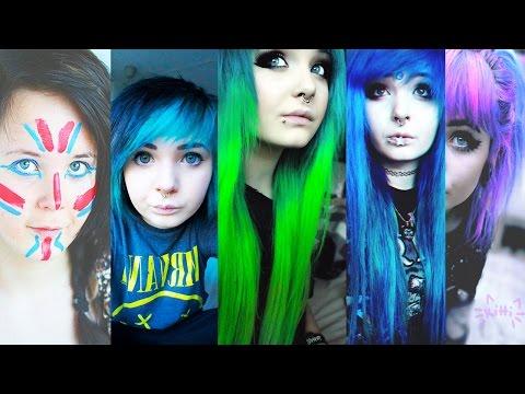 Hair timeline (2011-2015)