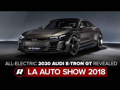 All-electric 2020 Audi E-Tron GT looks fast, charges faster | LA Auto Show 2018