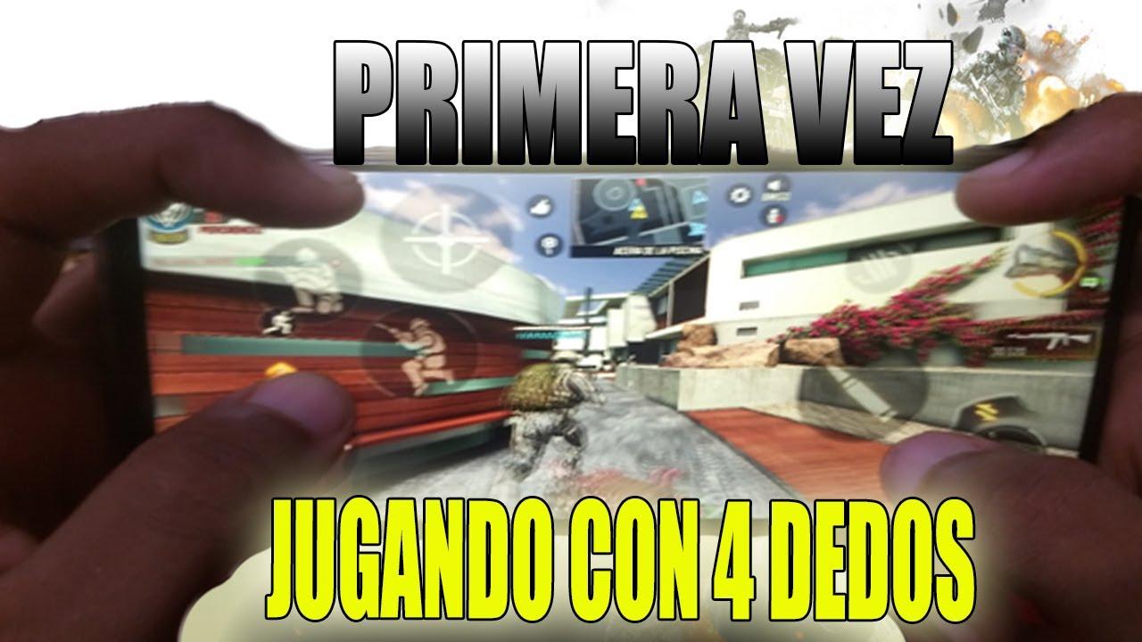 JUGANDO CON 4 DEDOS/ ¿COMO ME FUE?/ Call Of Duty Mobile