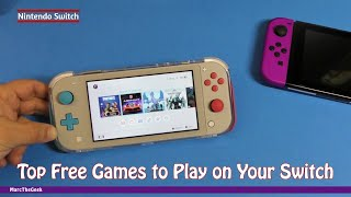Top Free Games to Play on Your Nintendo Switch