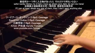 [FULL] Sword Art Online 2 Op 2: Courage (Piano) ソードアート・オンライン 2 Op2: Courage thumbnail