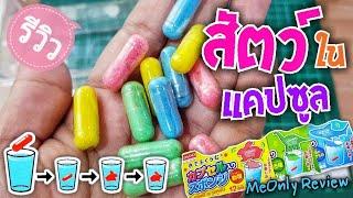 รีวิว ของเล่นญี่ปุ่น แคปซูลฟองน้ำรูปสัตว์   MeOnly Review