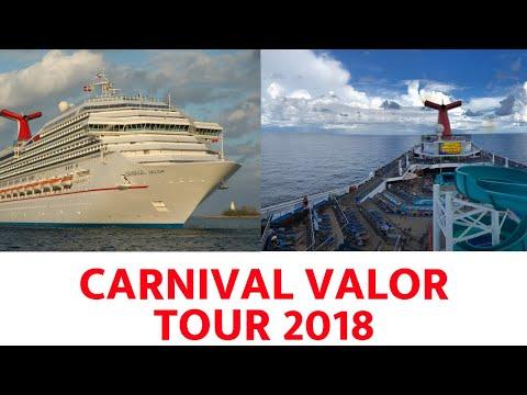 Carnival Valor Tour 2018