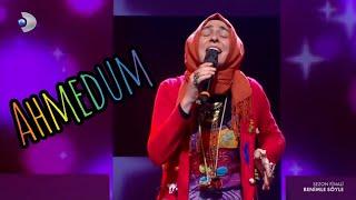 Eftalya Fettahoglu Emirmiran - Ahmedum  Nokta Ana Destani   Benimle Soyle BUYUK FiNAL 2  Performans Resimi