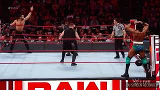 WWE SETH ROLLINS AND ROMAN REIGNS VS JINDER MAHAL AND KEVIN OWENS