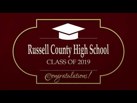 Russell Co High School 2019 Graduation