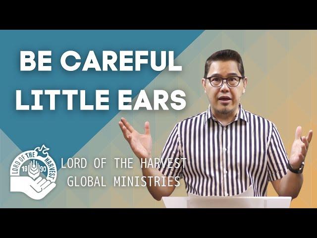 BE CAREFUL little ears  (Japanese subtitle)