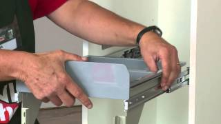How To Make A Pull-Out Trash Bin - DIY At Bunnings
