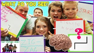 BRAIN SPIN Brain Games / That YouTub3 Family