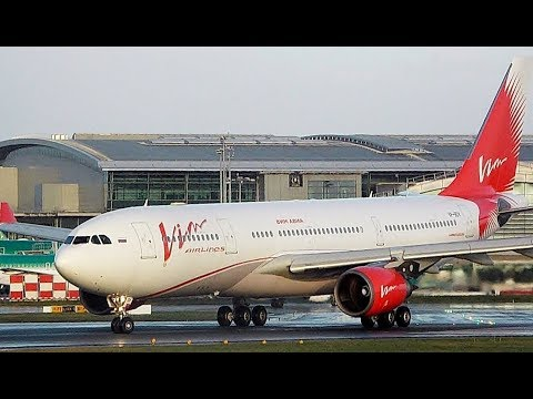 FIRST ON YOUTUBE! | VIM Airlines A330 VP-BDV at Dublin! | FIRST EVER VIM A330!