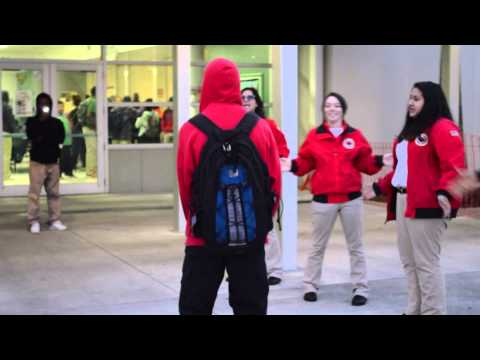 City Year Morning Greeting - Central
