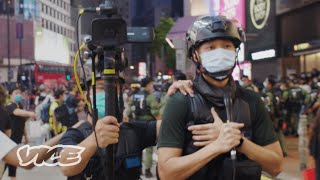 Hong Kong Police Livestream Protests on Facebook