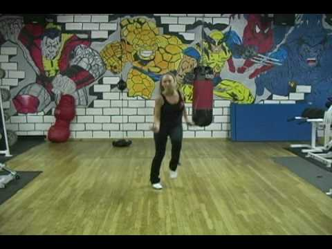 """Jump rope~""""rope dancing"""" choreographed routine by Linda Cooper"""