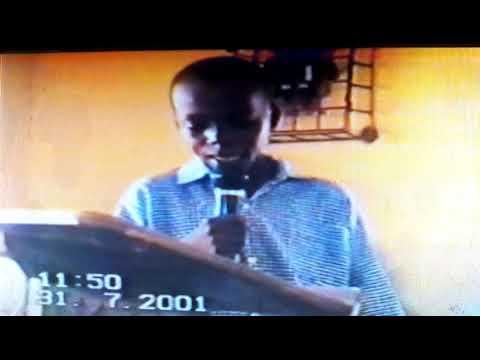 University Primary School Debate(2001) by Ridwan Abubakar Shinkafi