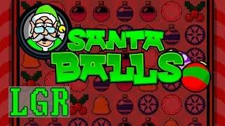 LGR - Santa Balls - PC Game Review
