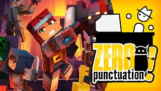 Minecraft Dungeons (Zero Punctuation) (Video Game Video Review)