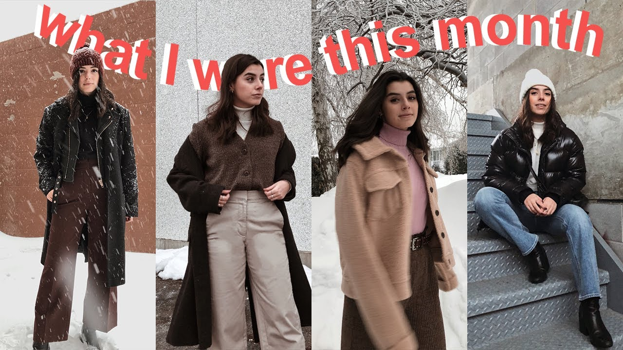 Feb Outfits of the Month | 30 Canadian Winter Outfits 1