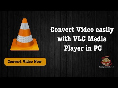 [Hindi] Convert video easily with VLC player in PC