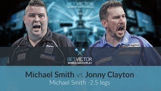 Michael Smith vs Jonny Clayton | BetVictor World Matchplay Preview Show | Darts 🎯