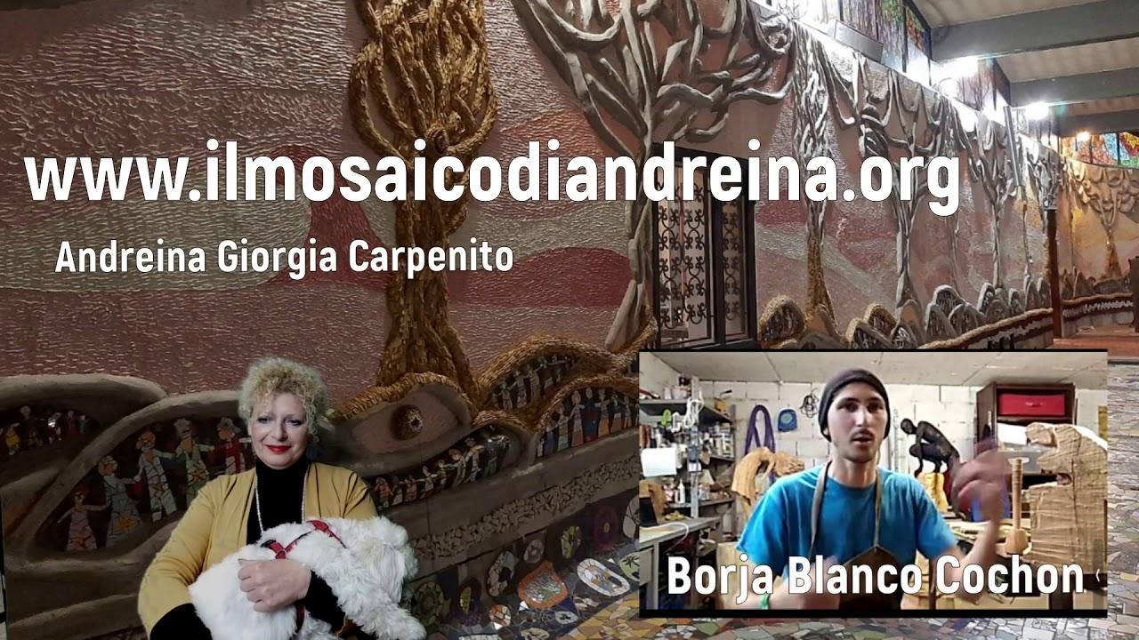 Storie del mosaico: intervista con Borja Blanco arrivato dalla Spagna