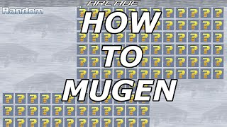 Mugen Tutorial How t๐ add more Character Slots to Mugen