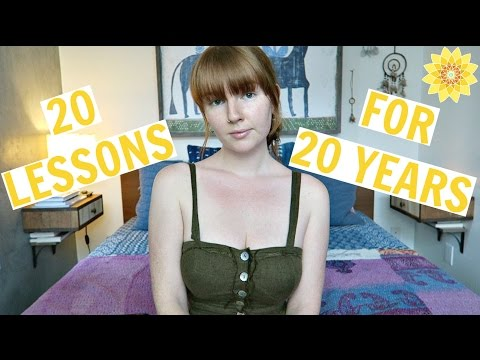 20 THINGS I LEARNED AT 20  MEGHAN HUGHES