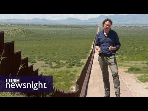 Trump's Wall: A symbol of his presidency? - BBC Newsnight