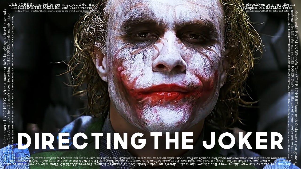 Download Christopher Nolan on Directing The Joker