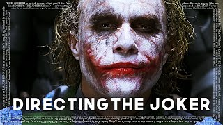 Christopher Nolan on Directing The Joker