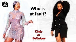 EX BBNAIJA HOUSEMATE CINDY IN A MESSY FIGHT WITH LAGOS DESIGNER Full Gist