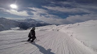 Skiing from Italy to France over the Alps GoPro Hero4 Silver