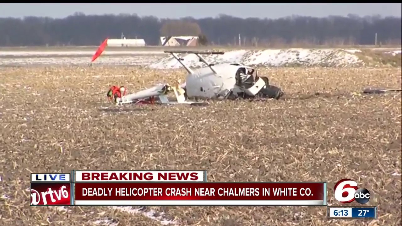 Indiana white county chalmers - Pilot Killed In White County Helicopter Crash