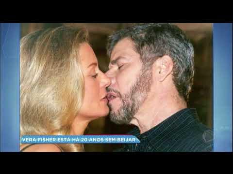 Hora da Venenosa: Vera Fischer revela que não beija há quase 20 anos