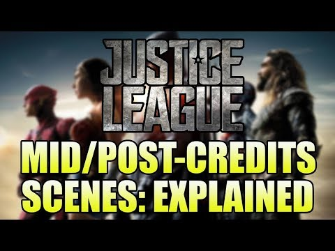 Justice League: Mid/Post Credits Scenes Explained