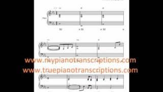 Jar of Hearts Piano Accompaniment Sheet Music