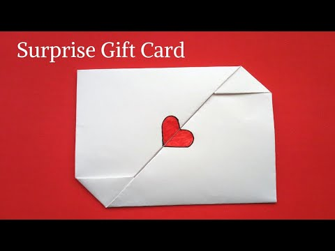 DIY Surprise Message Card for Teachers Day | DIY Surprise Gift Card #teachersdayspecial