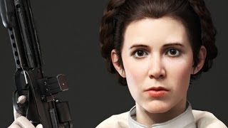 Princess Leia Gameplay in Star Wars Battlefront at 1080p 60fps