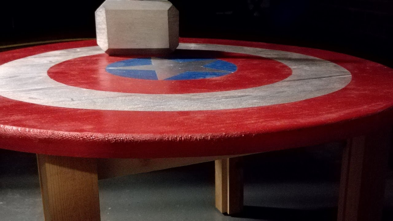 New Captain America Coffee table! - YouTube DB35