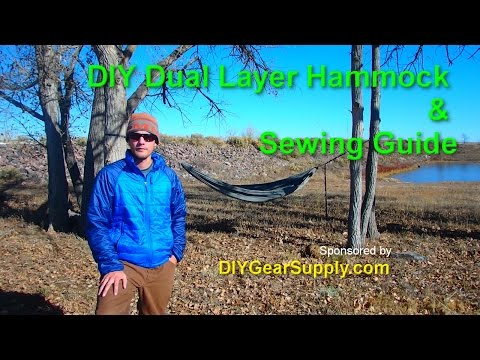 DIY Dual Layer Hammock & Sewing Guide