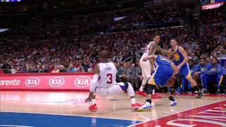 Steph Curry Gives CP3 the Slip with Wicked Cross
