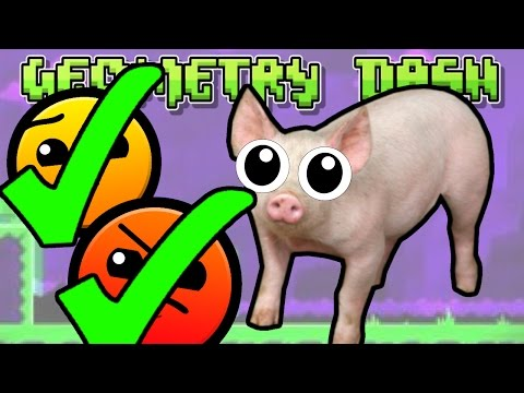 Geometry Dash: CAN'T LET GO AND JUMPER ALL 3 COINS!!   #7 (2.0)