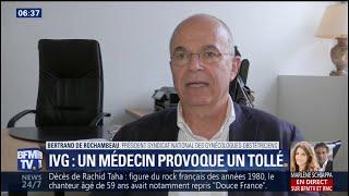 IVG assimilé à un homicide: le président du Syndicat national des gynécologues clarifie ses propos