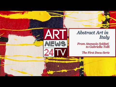 MODERN ABSTRACT PAINTERS : Gabriella Tolli & History of Abstract painters