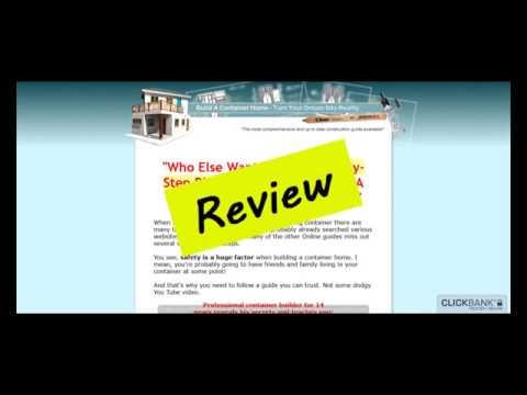 Build A Container Home Review (Buildacontainerhome.com)
